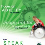 """Focus on Ability"" Poster"