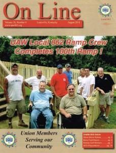 Pic of union ramp workers